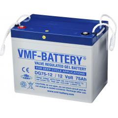 VMF GEL Deep cycle 12V 75Ah