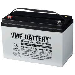 12V 125Ah VMF DEEP CYCLE AGM