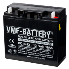 12V 18Ah VMF DEEP CYCLE AGM