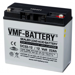 12V 22Ah VMF DEEP CYCLE AGM