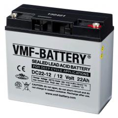 12V 22Ah VMF DEEP CYCLE AGM